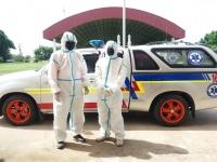 ปฏิบัติการ รับ-ส่ง ผู้เดินทางมาจากพื้นที่เสี่ยงเข้าตรวจหาเชื้อไวรัส COVID-19