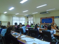 ประชุมคณะกรรมการกองทุนหลักประกันสุขภาพ