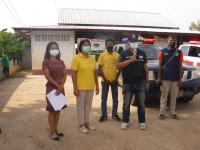 ประชาสัมพันธ์มาตรการเฝ้าระวัง ป้องกัน และควบคุมโรคติดเชื้อไวรัสโคโรนา 2019 (โควิด-19)ในพื้นที่จังหวัดศรีสะเกษ